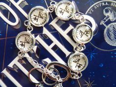 Knights of Lazarus Bracelet Inspired by All Souls Trilogy / A Discovery of Witches on Etsy, $25.00