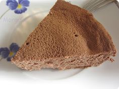 Tarta de yogur y chocolate microondas - sin azucar