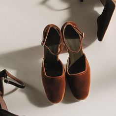 Velvet dreams from Rachel Comey #velvet #heels #shoes #thedreslyn