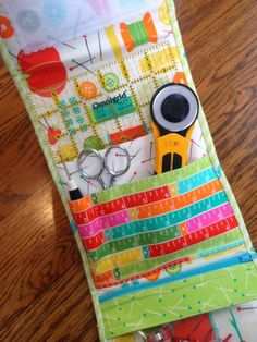 Cute project with Sewing Box fabric collection.
