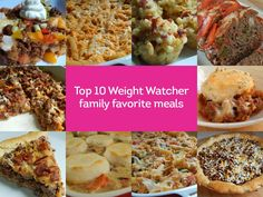 Top 10 weight watcher family favorite meals by drizzle me skinny