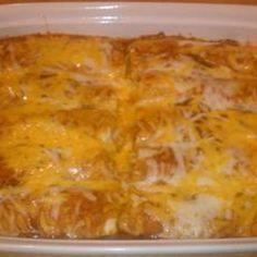 """Enchilada Night"" Beef & Cheese Enchiladas"