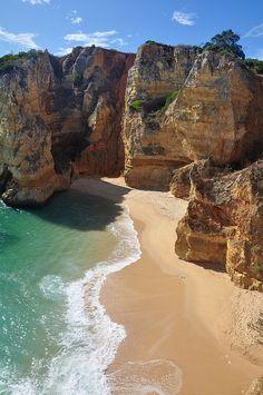 Praia de Dona Ana, Algarve Coast, Portugal