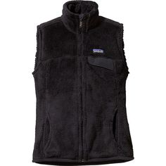 Patagonia Womens Re-Tool Vest - XS - Black - Outerwear ($109) ❤ liked on Polyvore featuring outerwear, vests, black, patagonia vest, thermal vests, vest waistcoat, zip vest and patagonia