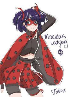 Ladybug with a new outfit! (Miraculous Ladybug)