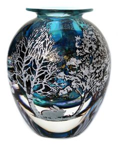 Graal Landscape vase   ORDER-Graal-one-off-pieces-available-made-to-order   J H Studio Glass