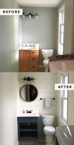 Easy Weekend Project: DIY Painted Cabinets – The Everygirl – Diy Bathroom Remodel İdeas Easy Home Decor, Cheap Home Decor, Diy Home Projects Easy, Diy House Projects, Home Renovation Loan, Small House Renovation, House Renovations, Apartment Renovation, Diy Casa
