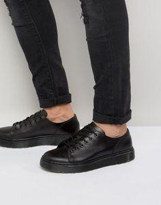 Туфли с 6 парами люверсов Dr Martens Fusion