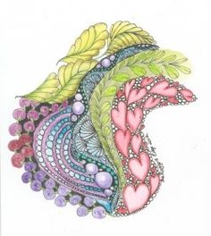 Zentangle with Color