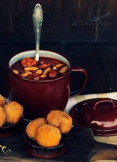 La Cucharina Mágica: Croquetas de compango de fabada