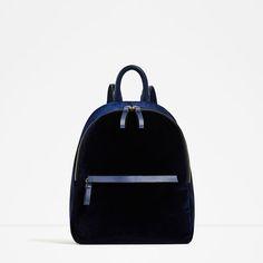 Image 2 of VELVET BACKPACK from Zara  $60