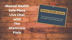 Youtube Live, Safe Place, Health Quotes, Mental Health, Places, Fit Quotes, Lugares