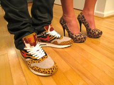 HK // his n hers matching shoes. sexual.