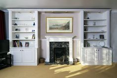 traditional fitted lounge furnitur white