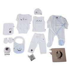Set de Recién Nacido - Azul
