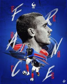 Ptitecao studio - sport graphic designer - world cup 2018 Antoine Griezmann, World Cup 2018, Fifa World Cup, Dog Snacks, Book Images, Sports Art, Soccer Players, Free Food, Graphic Design