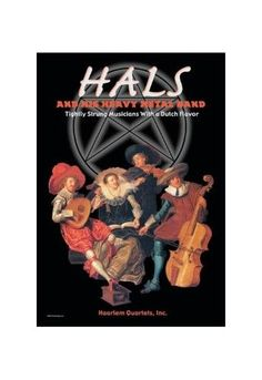 'Hals And His Heavy Metal (Grey) Band' Print (Unframed Paper Poster Giclee 20x29)