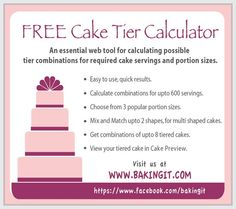 wedding cake cost calculator cake serving charts on 74 pins 22253