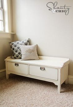 DIY Bench Plans shanty-2-chic...you are amazing!!!