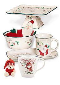 Pfaltzgraff Winterberry Dinnerware Collection. Christmas ...  sc 1 st  Pinterest & Pfaltzgraff Heritage Christmas Dinnerware Cream and Sugar Set ...