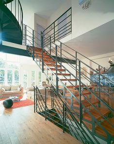 27 id es d 39 escaliers pour votre loft d co pinterest la mezzanine mezzanine et la marche. Black Bedroom Furniture Sets. Home Design Ideas
