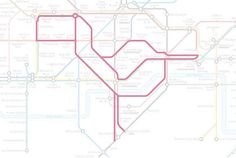 Rotherhithe the Flamingo. | 22 Animals Who've Been Hiding Out In The London Underground Map