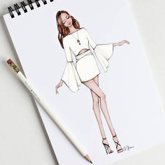 Fashion drawing ideas sketches 55 ideas 26 ideas for fashion design sketches sketchbooks fashion Dress Design Drawing, Dress Design Sketches, Fashion Design Sketchbook, Dress Drawing, Fashion Design Drawings, Fashion Sketches, Dress Designs, Dress Illustration, Fashion Illustration Dresses