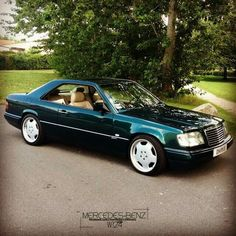 Still the best looking coupe from MB. Pic from Mercedes w124 fb page.