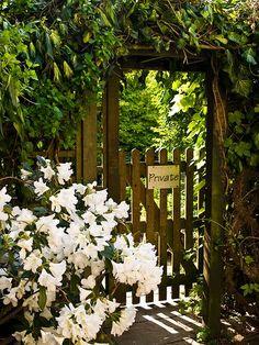 have a secret garden.