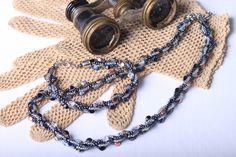 Souprava šitých šperků z pohanky Návod v češtině