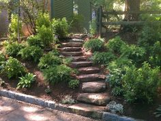 Landscaping Ideas for Slopes | landscaping ideas backyard slopes