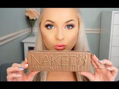 Urban Decay Naked 3 Palette | Natural Glam Tutorial { she does the best tutorials ever omg }