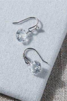 Tai Jolin Earrings In Silver by Tai - Silver - Size: One Size #SilverDropEarrings