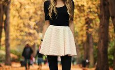 "Find and save images from the ""Fashionista"" collection by Destinyymae (Destinyymae) on We Heart It, your everyday app to get lost in what you love. Fall Winter Outfits, Autumn Winter Fashion, Autumn Style, Skirt Outfits, Cute Outfits, Hipster Outfits, Junior Outfits, Cute Skirts, In Pantyhose"