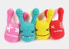 Free pattern: Crocheted rattle // Kristi Tullus (sidrun.spire.ee)