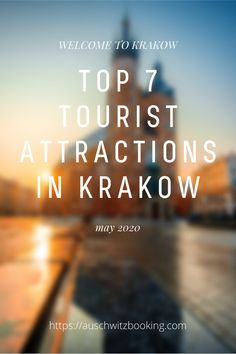 More than 14 mln people have visited Krakow in 2019. It is probably the most beautiful and fascinating city in Poland.