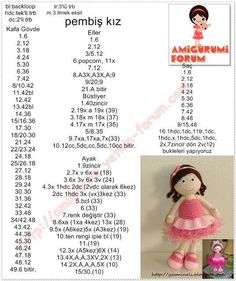 Free Amigurumi Crochet Doll Pattern and Design ideas – Page 8 of 37 – Daily Crochet! Free Amigurumi Crochet Doll Pattern and Design ideas – Page 8 of 37 – Daily Crochet!Free cute amigurumi patterns 25 amazing crochet ideas for beginners to make ea Crochet Gratis, Crochet Amigurumi, Crochet Doll Pattern, Amigurumi Doll, Amigurumi Patterns, Crochet Dolls, Doll Patterns, Free Crochet, Crochet Patterns