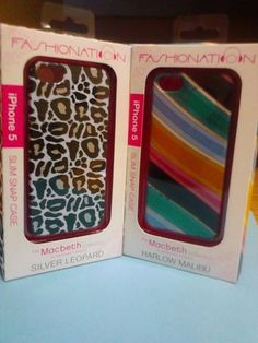 'MacBeth iPhone 5 Cases ' is going up for auction at  3pm Thu, Aug 22 with a starting bid of $1.