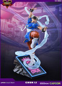 Street Fighter V - Chun-Li V-Détente Polystone Statue Pop Culture Shock 3d Figures, Anime Figures, Action Figures, Street Fighter 5, Chun Li, Statues, Batman Versus, Pop Culture Shock, Video Games Girls