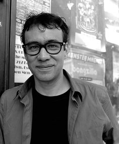 """I met Fred Armisen on the set of SNL when I played a stripper. He was in the scene and we joked about my being a real stripper, at which point I gave him the stripper nickname """"Purple Thunder"""" :) Fred Armisen, Hysterically Funny, It Movie Cast, Saturday Night Live, Snl, Music Tv, Man Humor, Funny People, Funny Comics"""
