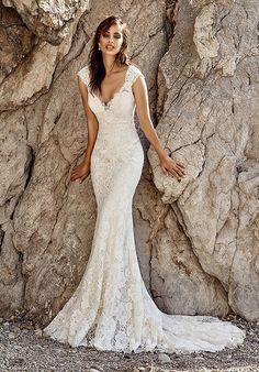 Eddy K Isla Sheath Wedding Dress