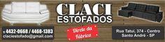 A CLACI é uma das maiores indústrias de estofados na região do ABC Paulista conciliando qualidade, conforto, bom gosto, variedade e tecnologia de ponta nos estofados produzidos em sua fábrica em Santo André.