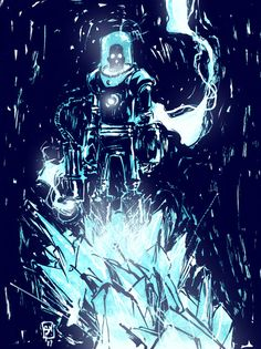 Mr Freeze by Skottie Young