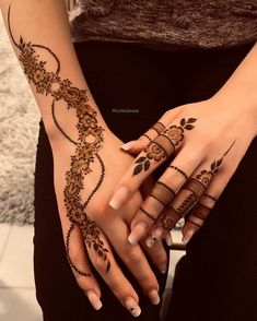 Hand Tattoos for Women Simple Mehndi Designs . Hand Tattoos for Women Simple Mehndi Designs . Latest Mehndi Designs, Mehndi Designs 2018, Modern Mehndi Designs, Mehndi Designs For Girls, Mehndi Designs For Fingers, Beautiful Henna Designs, Arabic Henna Designs, Beautiful Patterns, Mehndi Fingers
