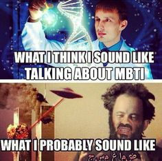 talking about MBTI with other people