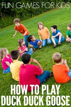 Fun Games for Kids Series: How to Play Red Light, Green Light – Activities for Babies – egame Games For Little Kids, Gym Games For Kids, Kids Party Games, Fun Games, Activities For Kids, Motor Activities, Movement Activities, Physical Activities, Duck Duck Goose Game