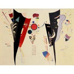 Reciprocal Accord 1941 Canvas Art - Wassily Kandinsky (18 x 24)