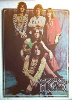 YES BAND STEVE HOWE JON ANDERSON CHRIS SQUIRE VINTAGE T-SHIRT IRON ON available at www.crushi.com