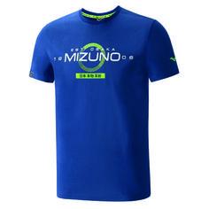 23ea49400ea Camiseta MIZUNO HERITAGE JPN TEE MARINO LIMA Atletismo Y Running -  acuatrosport.com