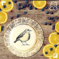 Prato vintage - O colecionista - Studio Ar.Co  #vintage #decoracao #inspiracao #inspiration #pratos #passaros #design #birds #plates #vintageplates #vintagedecor #vintageinspiration